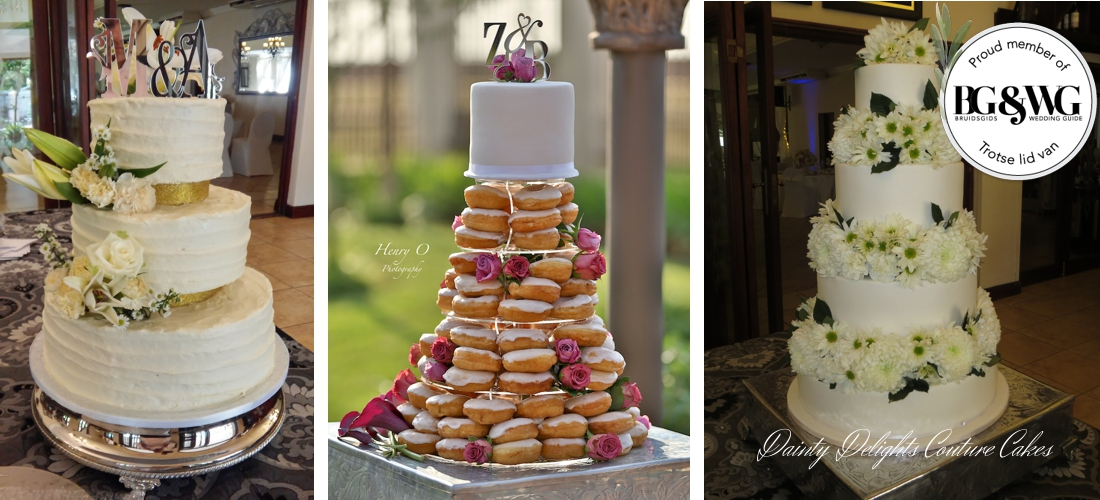 Some Of Our Wedding Cake Creations